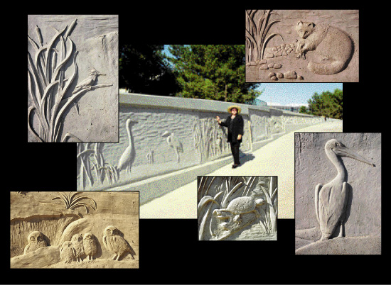 beautiful concrete art