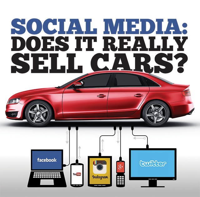 using social media to sell trucks